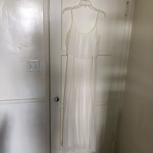 NWOT Greek Goddess White Dress